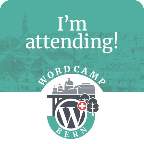 Image result for WordPress wordcamp Bern switzerland logo